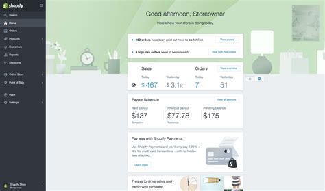 shopify themes revenue the 20 best ecommerce platforms to start an online store