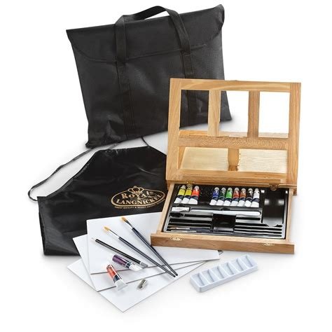 acrylic painting easel set 27 pc acrylic paint easel set 301239 toys at