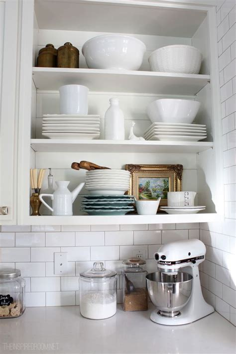Kitchen Display Shelf by The Secret To Styling A Home You Actually Live In The