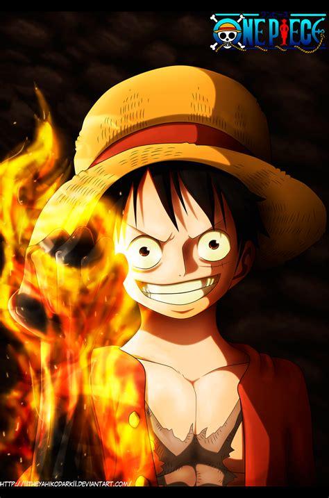 Raglan Anime Series Luffy 01 one saga de la isla gyojin kingdomofhart