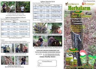 Harga Pupuk Organik Cair Herbafarm pupuk herbafarm bio organik fertilizer brosur aplikasi