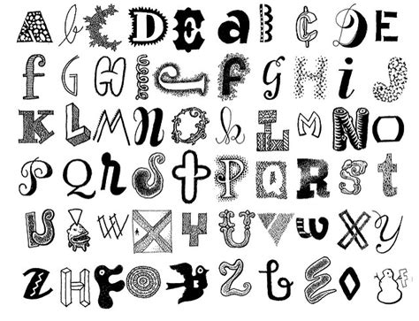 download imageswrite alphabets in a cool way 9 best images of different ways to creative letters easy font alphabet letters alphabet cool