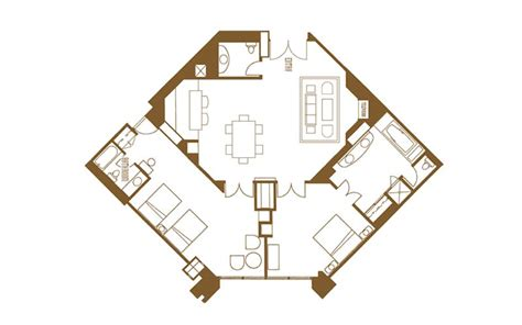 mirage las vegas floor plan mirage rooms suites