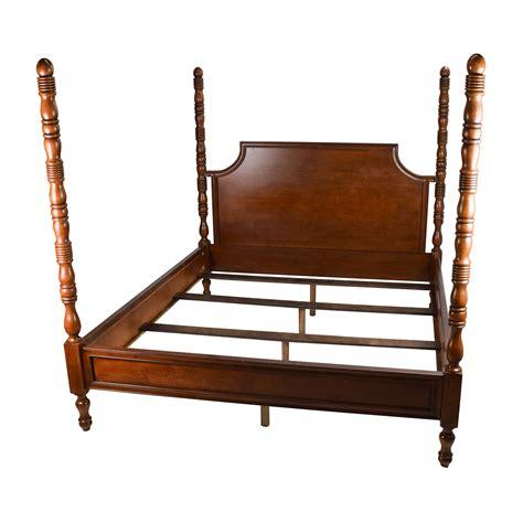 62 Off Ikea Ikea Svelvik Full Size Black Bed Frame Beds Used King Size Bed Frame