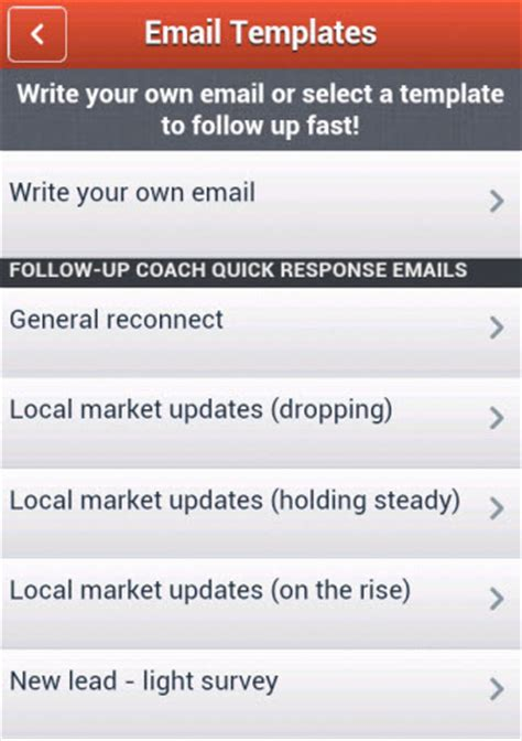 Follow Up Coach Mobile 171 Top Producer Cus Coaching Email Template