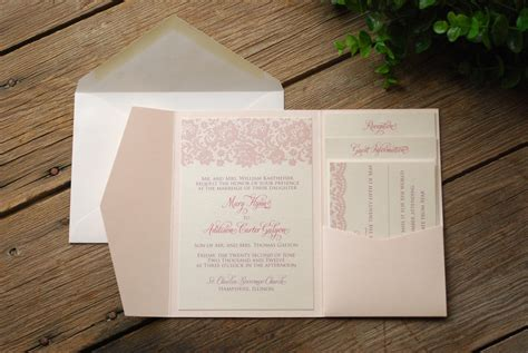 diy pocket wedding invitations diy wedding invitation kits pocket folds invitation librarry