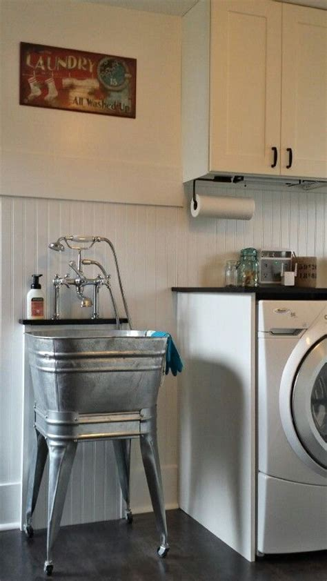 best 25 utility sink ideas on small laundry