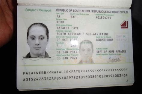 Interpol Id Card Template by White Widow Lewthwaite S Passport False