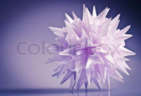 Virus Origami - wei 223 origami einheit kusudama virus oder schneeflocke