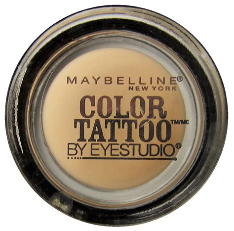 maybelline color tattoo nude pink maybelline color limited edition 250