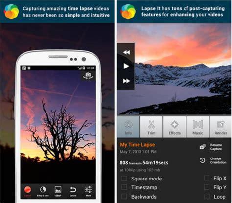 android time lapse time lapse android le migliori app per girare accelerati