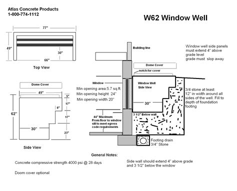 egress window wells product tags atlas concrete
