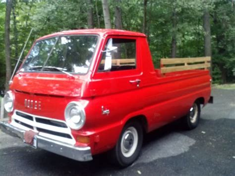 dodge a 100 trucks for sale 1966 dodge a100 truck with auto trans slant 6 engine