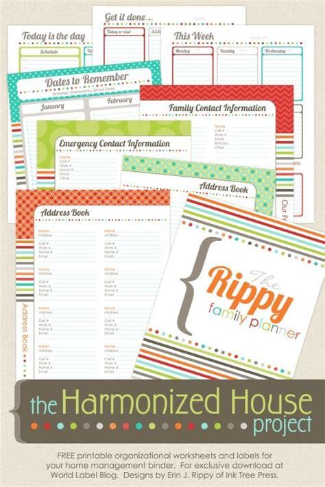 family planner printable free free printable family planner organize this pinterest