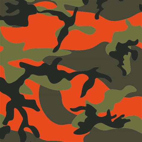 Folie Camouflage Orange camouflage car wrap auto folie motiv orange river
