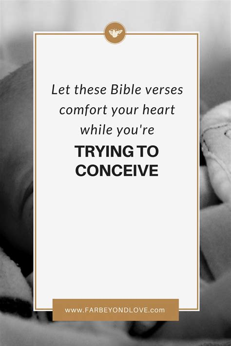 bible verses to bring comfort 25 best ideas about trying to conceive on pinterest
