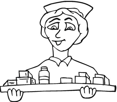 adult coloring pages for nurses medical coloring pages