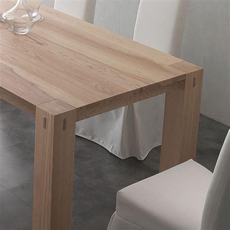 tavoli da pranzo allungabili legno massello tavolo da pranzo allungabile in legno massello fino a 260