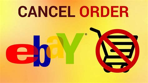 ebay cancel order how to cancel ebay order youtube