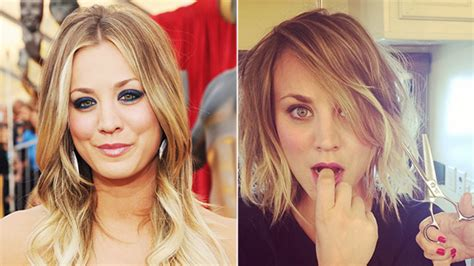 why did caily cuoco cut her hair 301 moved permanently