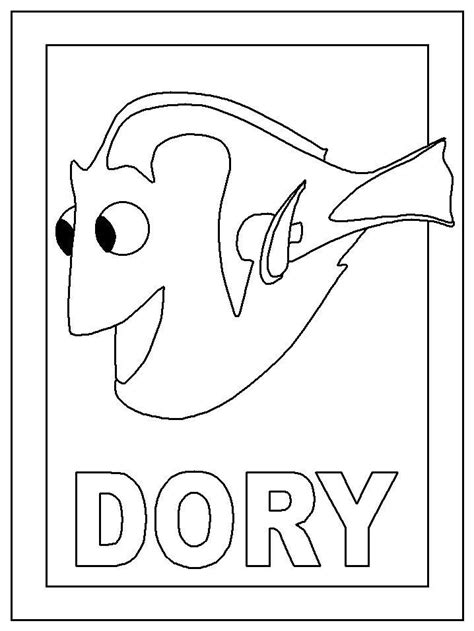 dory coloring pages coloring page dory