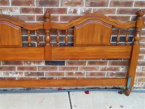 wood king size headboard solid wood king size maple headboard okc craigslist