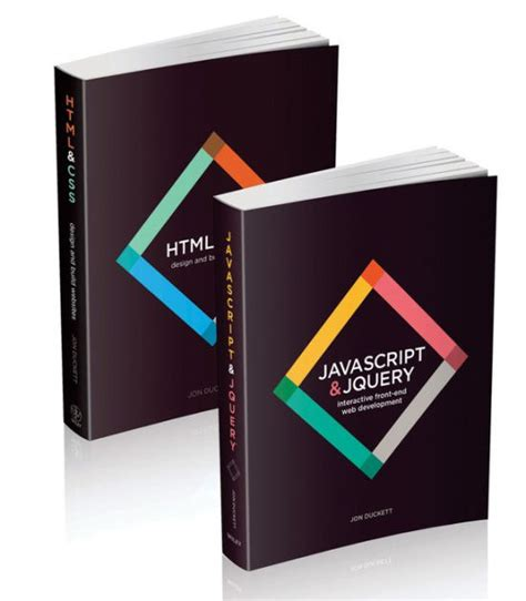 web design with html jon duckett pdf web design with html css javascript and jquery set