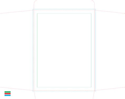 printable area in a4 a4 envelope printing template free download