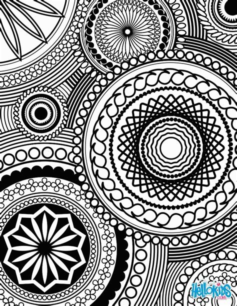 coloring pages designs intricate design coloring pages coloring home