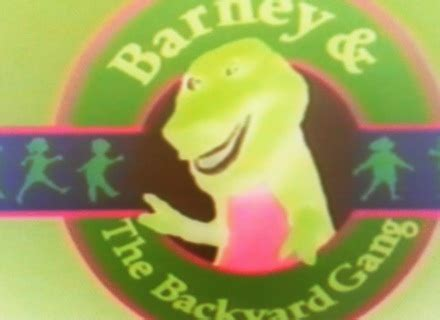 barney and the backyard gang theme song barney and the backyard gang barney in concert part 46