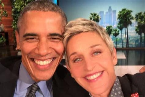 Degeneres Starts A Barack by Obama Declines To On Degeneres Show