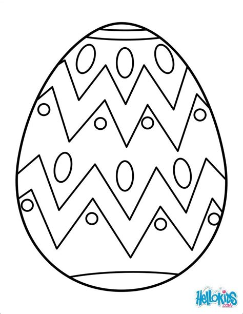 egg coloring easter eggs coloring pages coloring pages for free