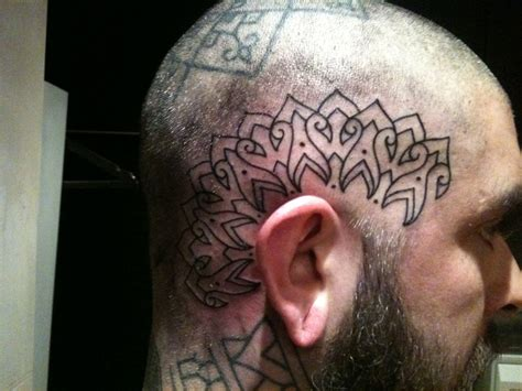 head tattoos higgins