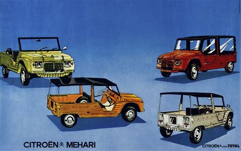 citroen mehari citroen celebrates 45th anniversary of the mehari
