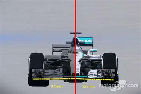 Calendrier F1 2017 2017 F1 Car Comparison With Current 2015 Car Les F1 2017