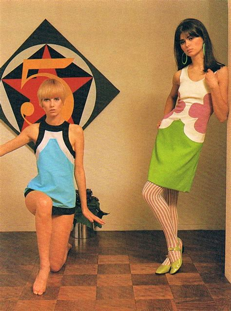 1966 hippies fashion mod designs by john kloss 1966 60sfashion 60sdresses