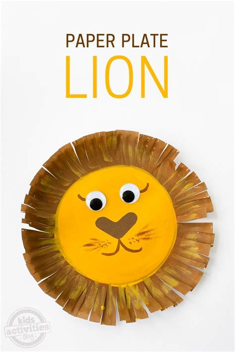 Craft With Paper Plate - 25 best ideas about craft on zoo crafts