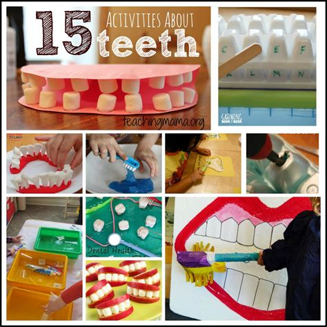 15 activities about teeth dental health month dental