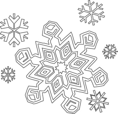 Coloring Pages Snowflakes | free printable snowflake coloring pages for kids
