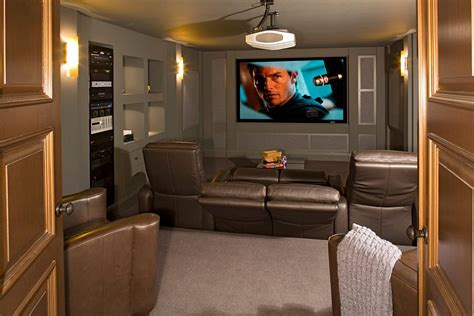 small basement home theater ideas turn the small basement into a cool home theater decoist