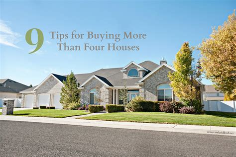 9 tips for buying more than four houses the reluctant