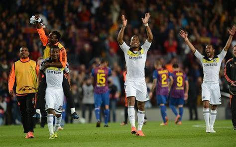 chelsea vs barcelona 2012 barcelona vs chelsea chions league highlights di