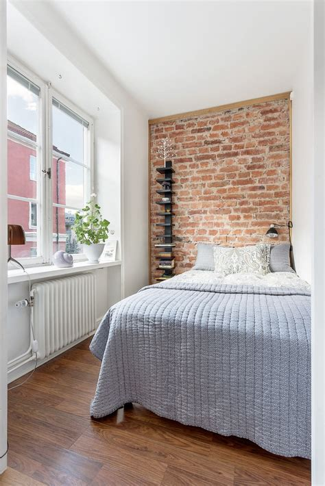 ideen für kleine schlafzimmer vinyl laminat grau