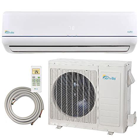 mini split air conditioners ductless mini split heat pumps 12000 btu senville ductless mini split air conditioner