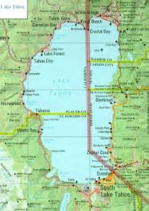 map of lake tahoe california pin by mcniel on california