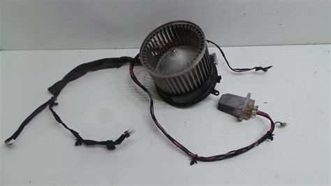 nissan qashqai blower motor resistor 2009 nissan qashqai heater blower motor fan resistor wiring ebay