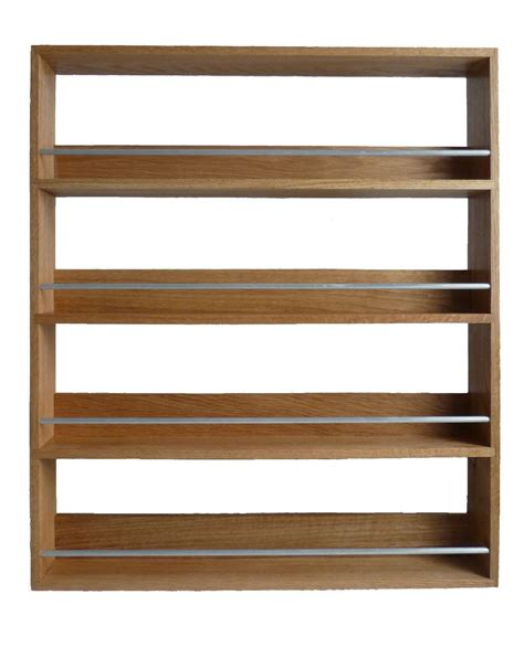 wall mounted spice rack cabinet solid wooden brown wall mounted spice rack with