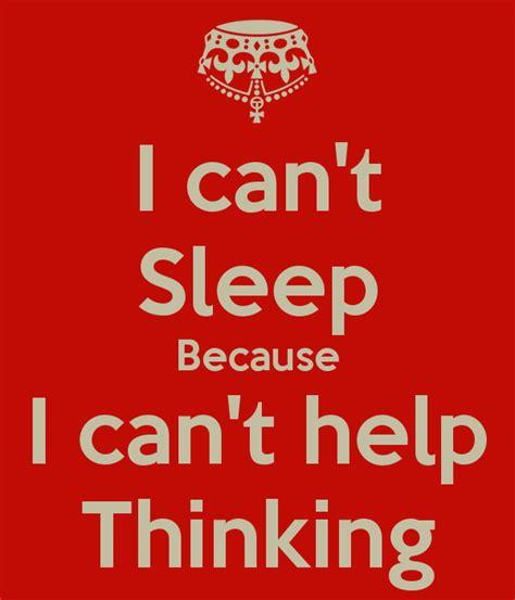 sleep     thinking poster