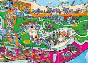 siloso resort location map image gallery sentosa map