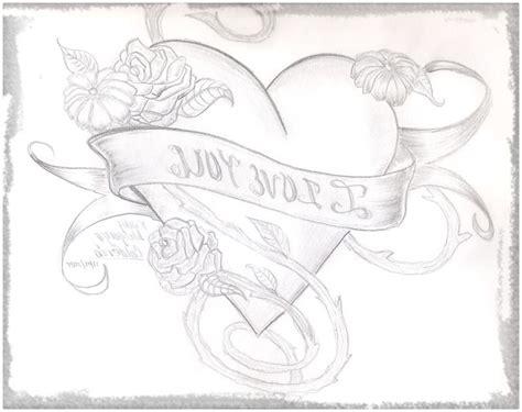 imagenes de amor hechas a lapiz imagenes a lapiz de corazones para enamorados dibujos de